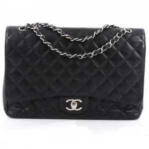 Chanel Classic Double Flap Quilted Maxi
